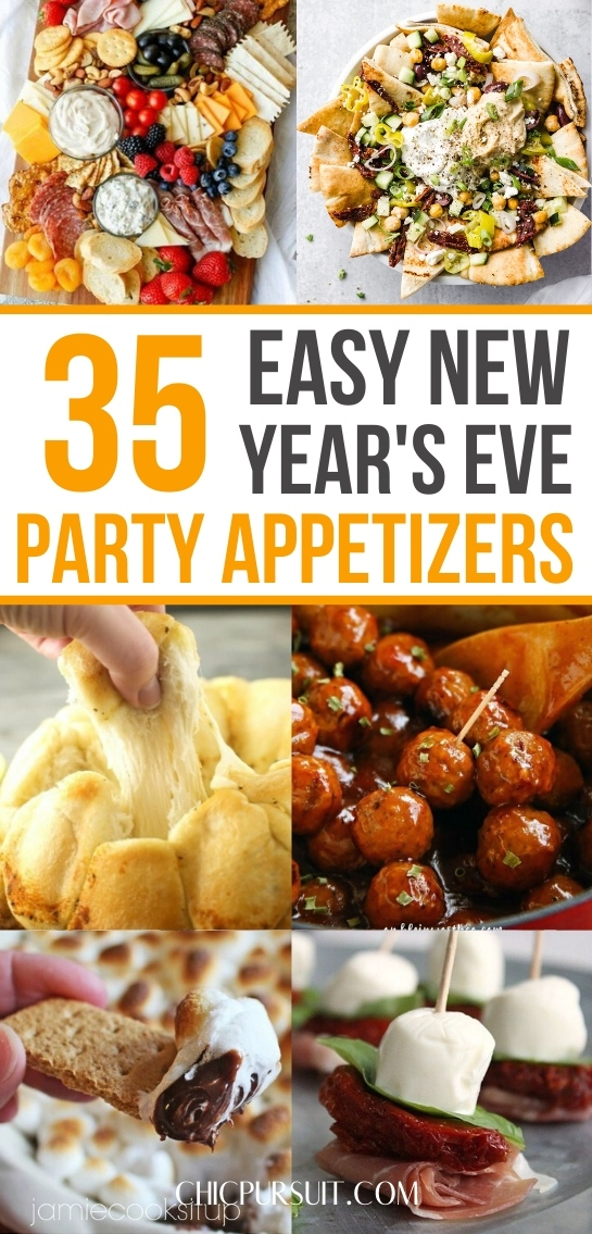 35 Easy New Year's Eve Party Appetizers To Ring In 2021!
