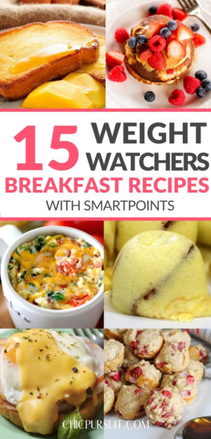 15 Easy Weight Watchers Breakfast Recipes With Points