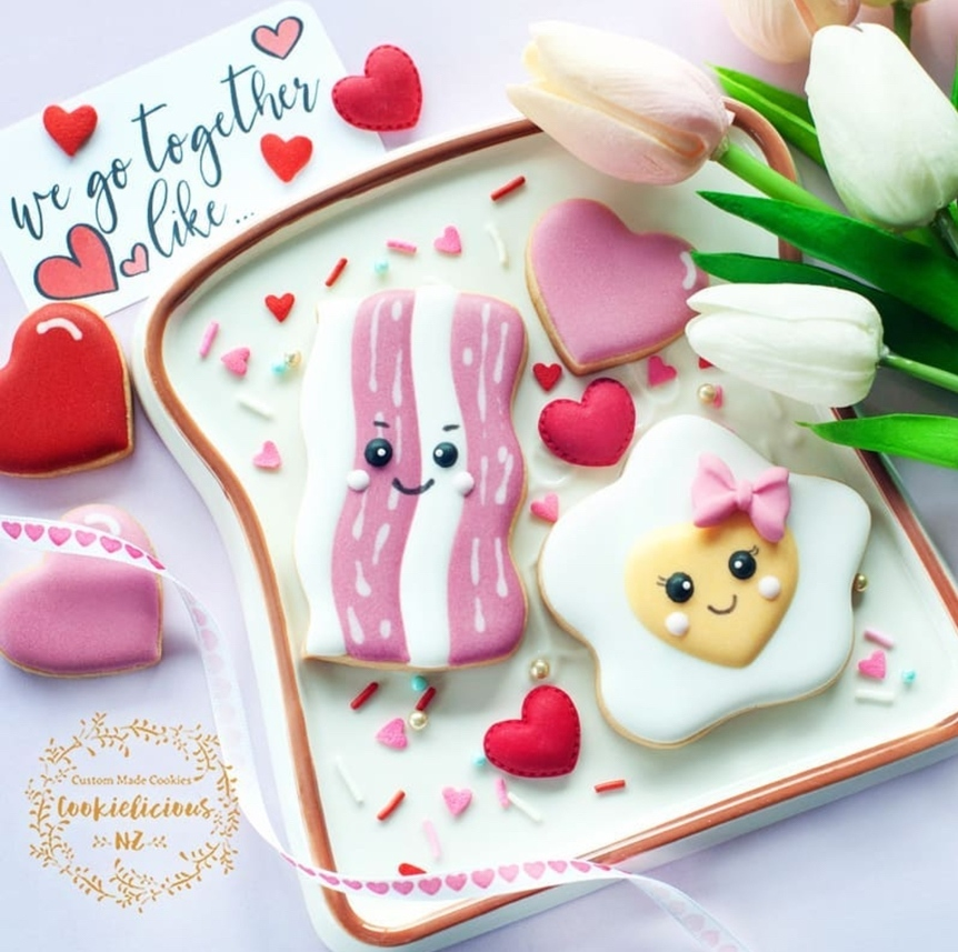 Cute sugar cookies for couples and kids