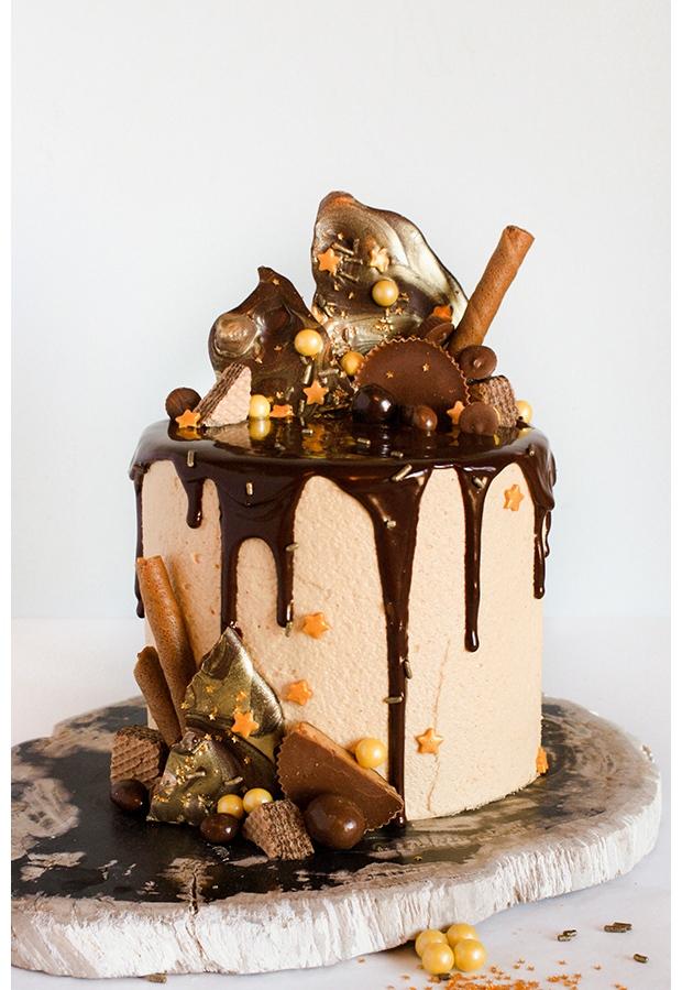 Elegant Chocolate Drip Cake