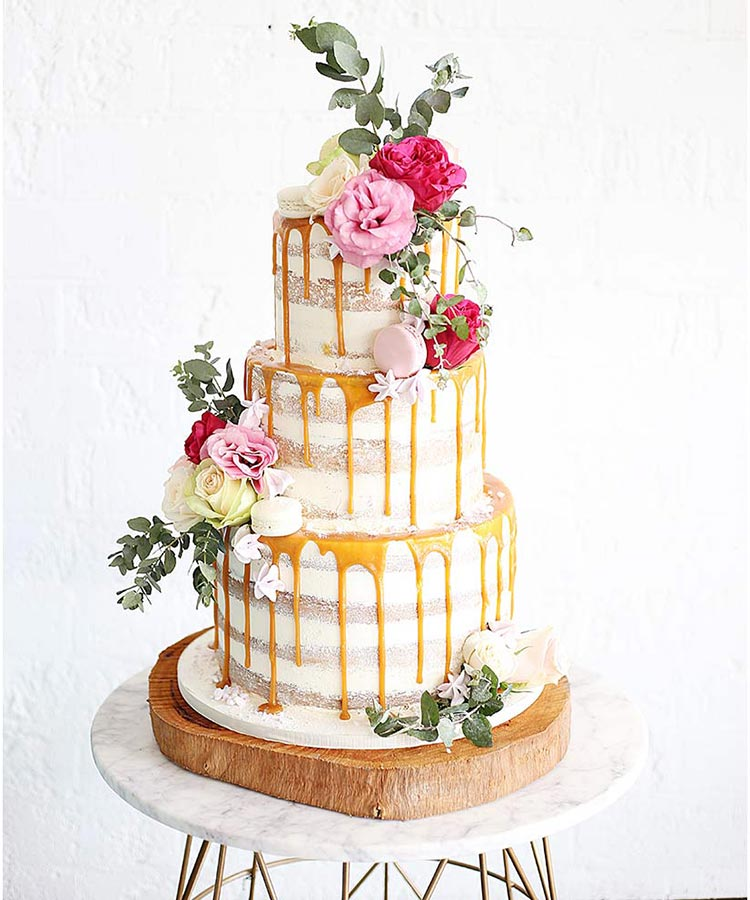 Beautiful And Unique Birthday Cake Ideas: Fruity Drip Cake