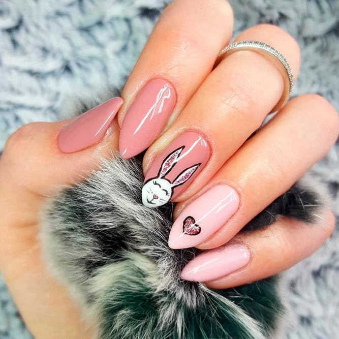 40+ Cute Easter Nails You Need To Try This Spring