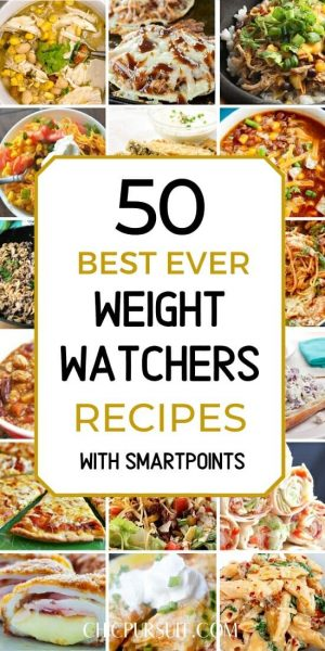 50 Best Weight Watchers Recipes & Meals With Points