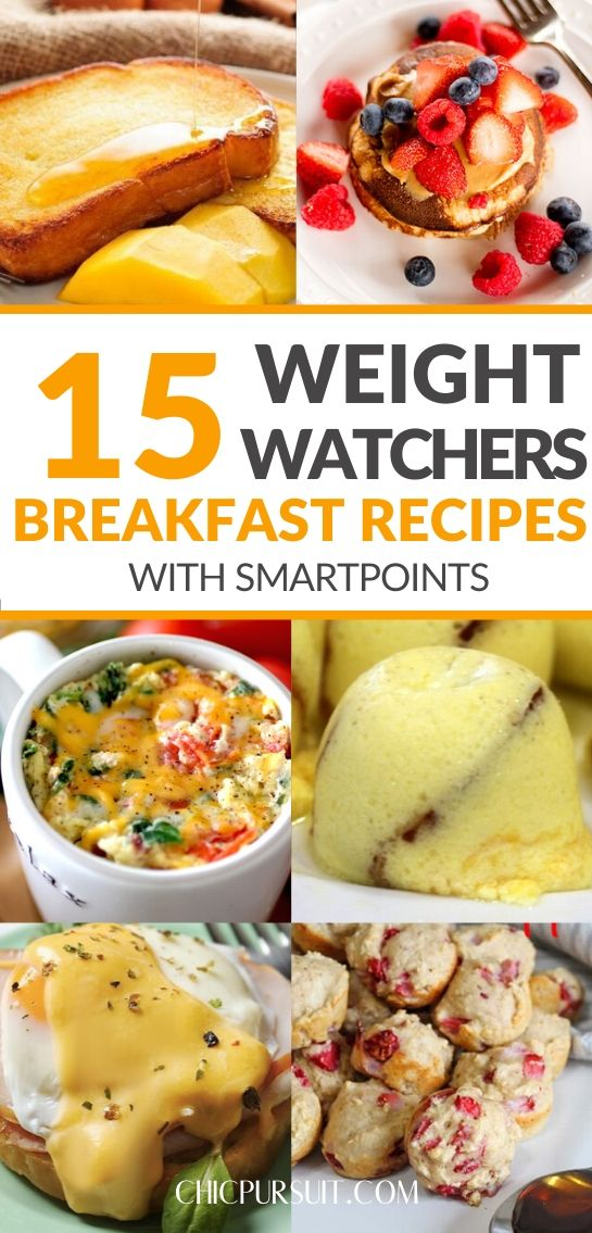 The best easy weight watchers breakfast recipes with points