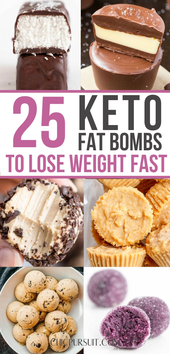 The best keto fat boms and easy keto desserts for weight loss