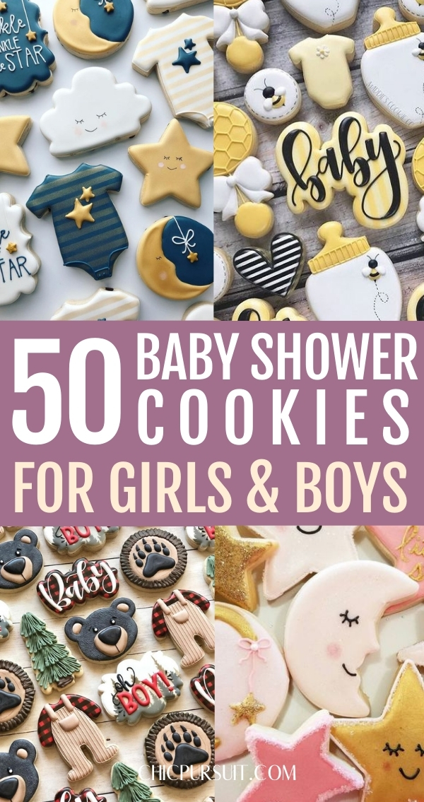50+ Best Decorated Baby Shower Cookies For Your Big Day