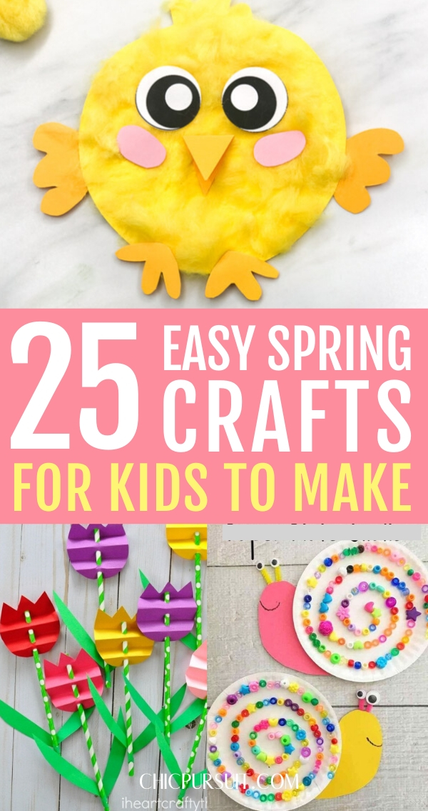 The best easy spring crafts for kids to make