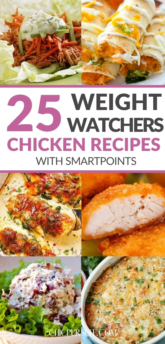 The best easy weight watchers chicken recipes with smartpoints