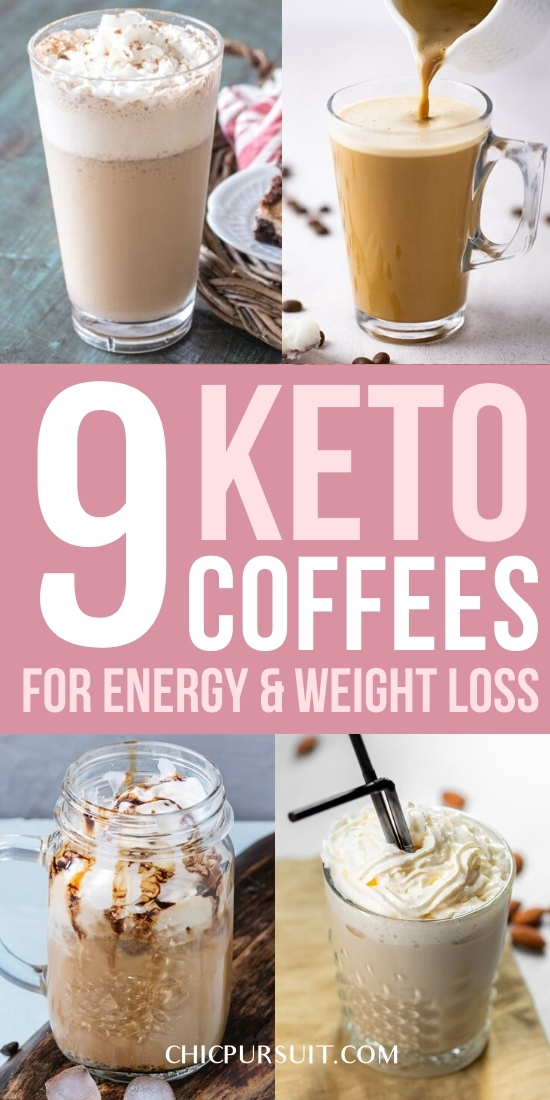 Best keto coffee recipes for weight loss and keto bulletproof coffee
