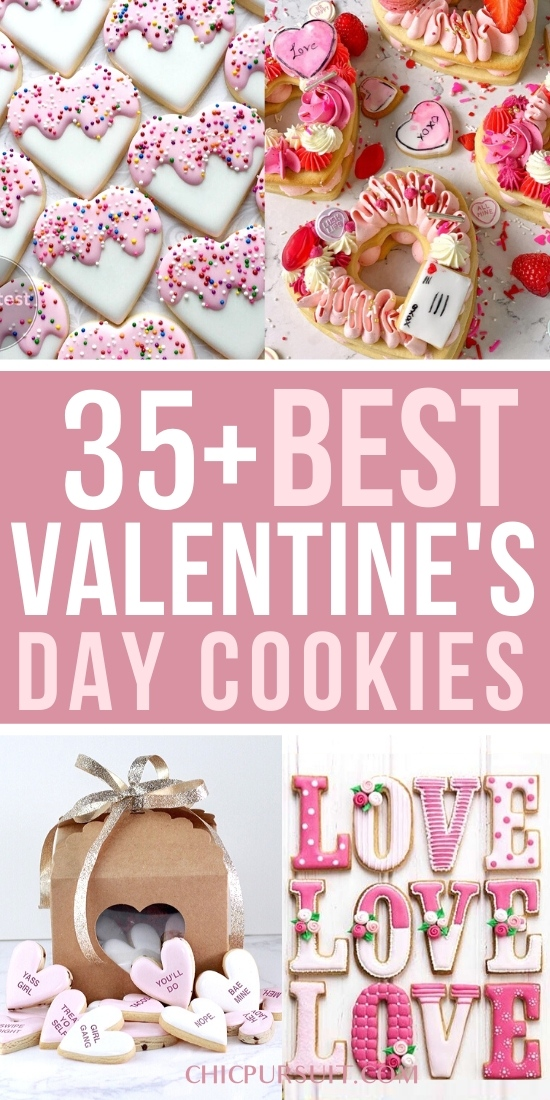 The best valentine's day cookies and heart shaped cookies