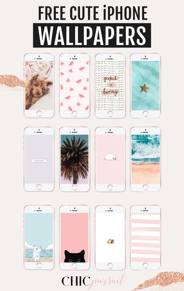 45+ Free Cute iPhone Wallpapers With HD Quality