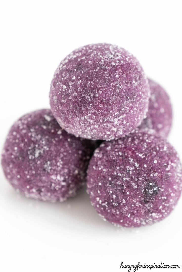 Blueberry Fat Bombs