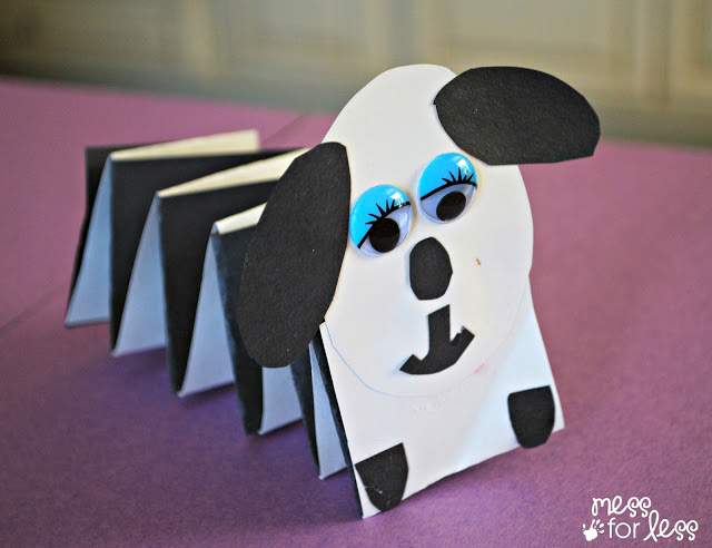 Paper Spring Dog