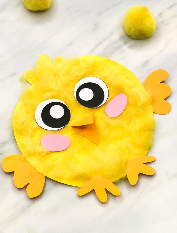 Fluffy Chick Craft