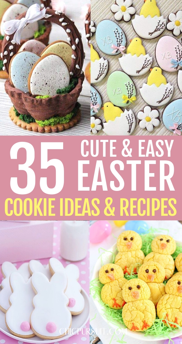 35 Best Easter Cookies That Are Unbelievably Cute