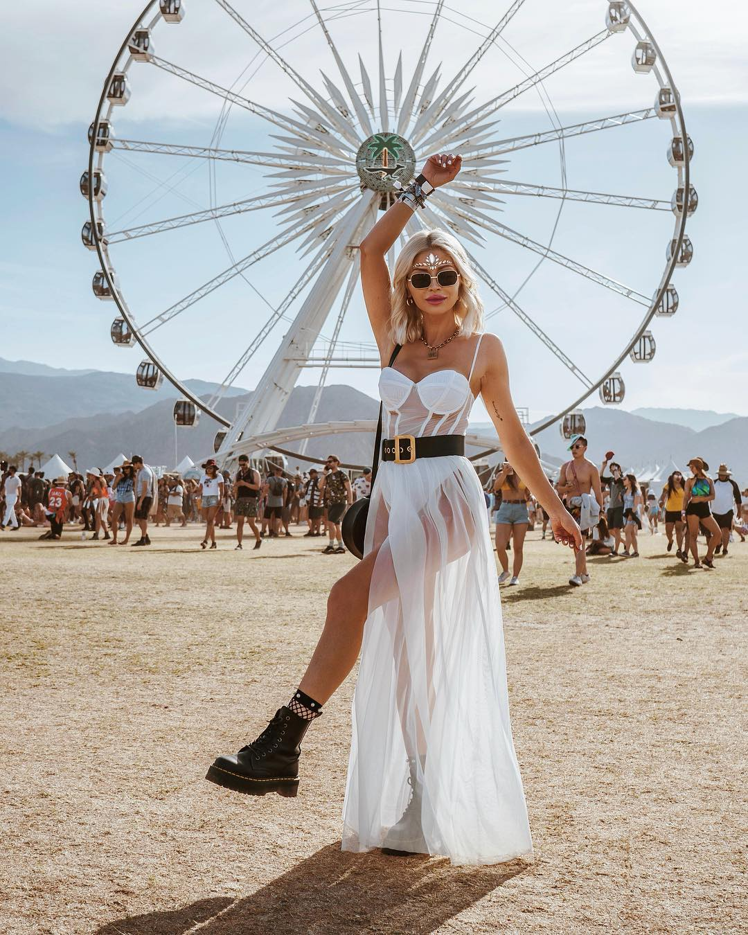 Festival outfits with white dresses
