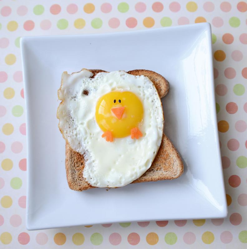 Chick Eggs Sandwich