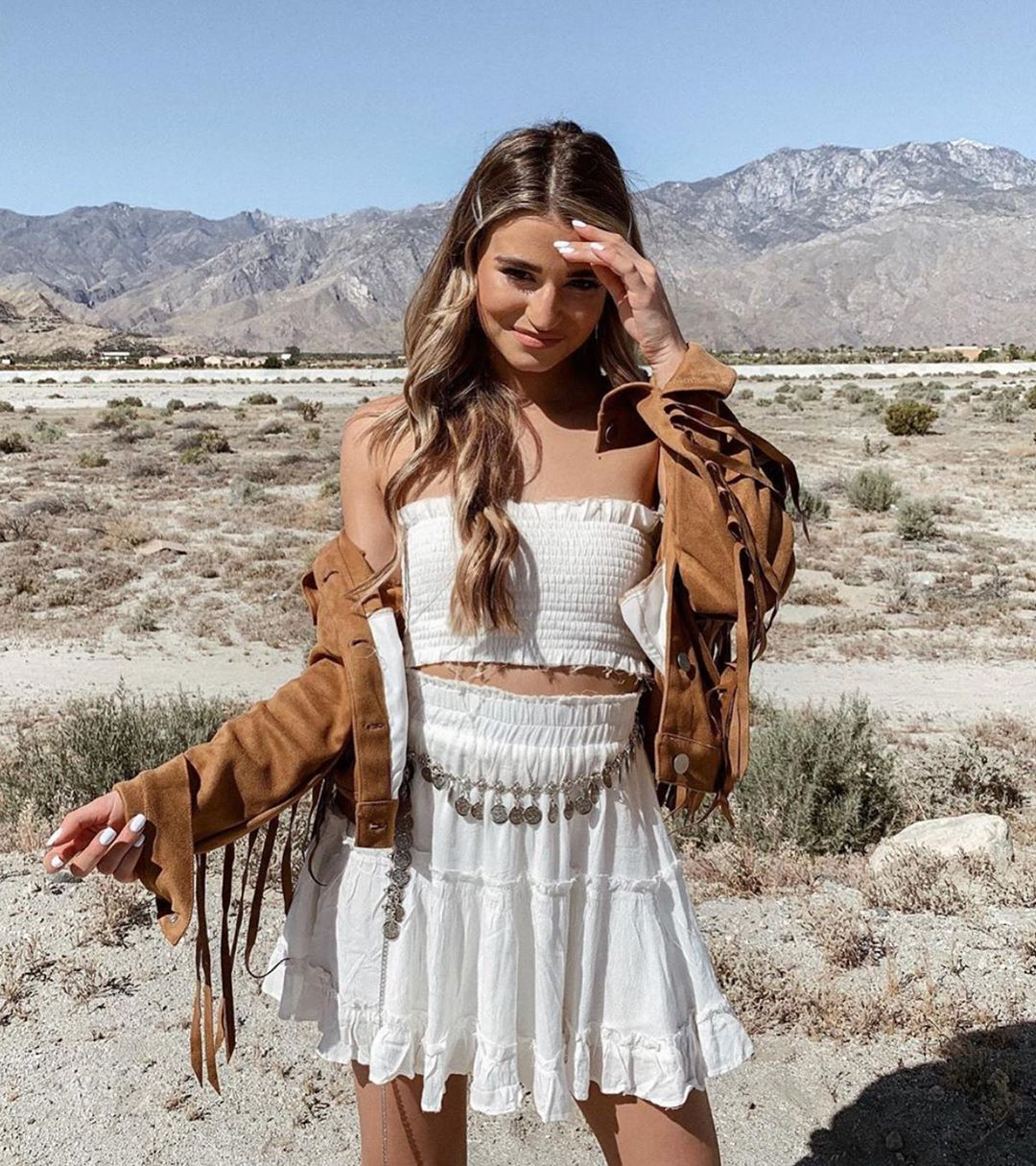Cute festival outfits that have boho flair