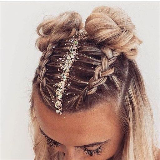 25 Best Festival Hair Ideas You Need To Try This Summer
