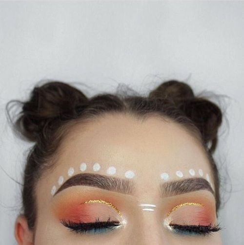 Simple and easy festival makeup looks