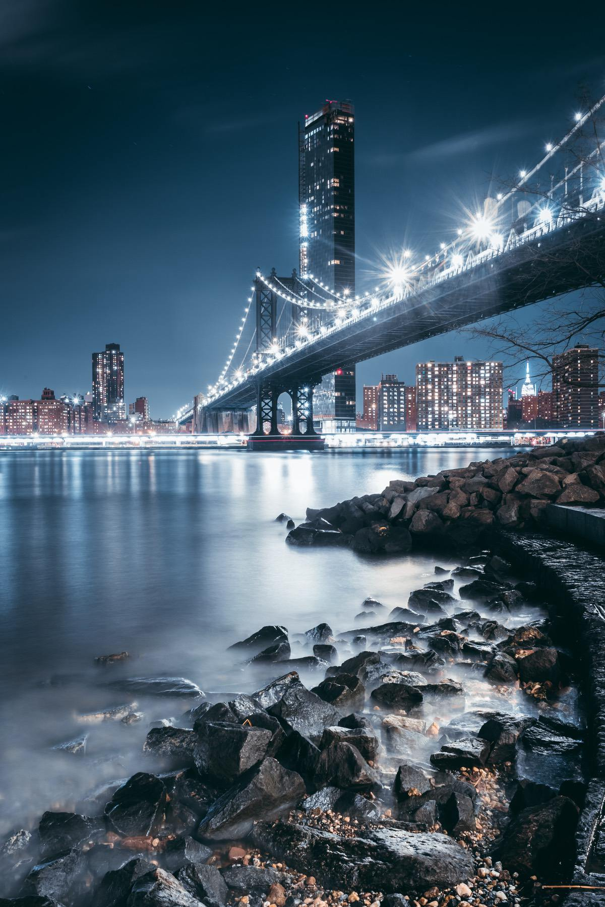 Night time NYC photography