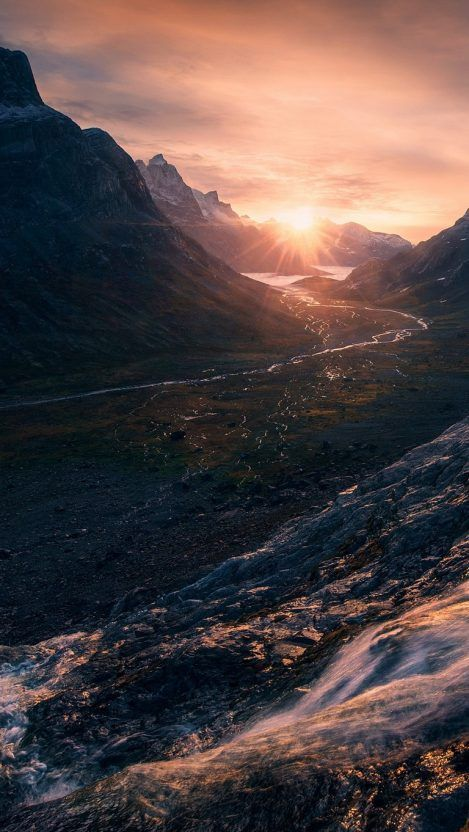 Mountain wallpaper iPhone, iphone mountain wallpaper with sunset