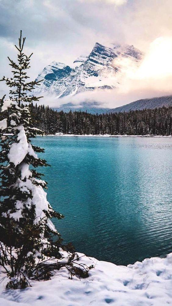 Winter wallpaper, Mountain wallpaper iPhone, iphone mountain wallpaper