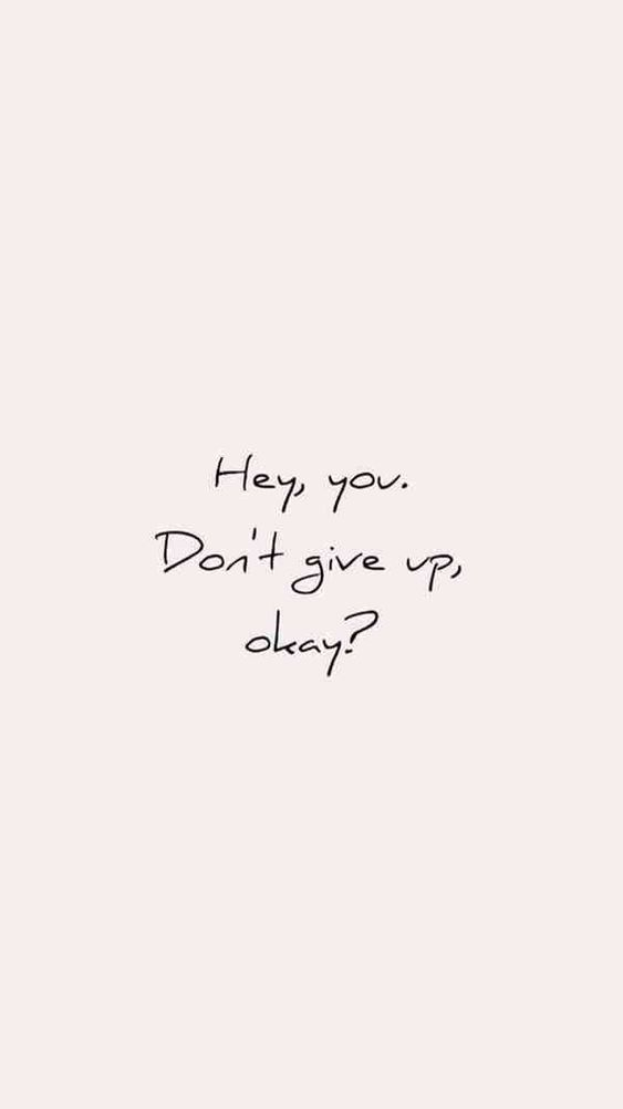 Cute inspirational quotes wallpaper for iPhone