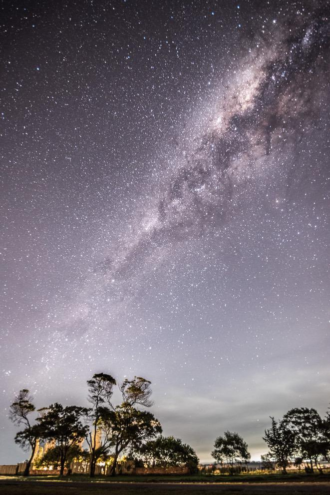 Beautiful nature wallpapers for iPhone with milky way - Night sky wallpaper