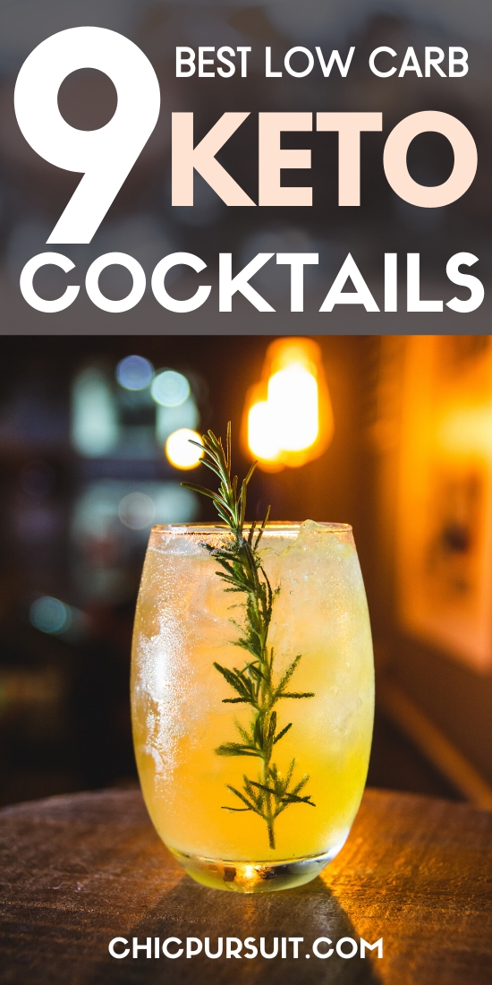 The best keto cocktails and low carb keto alcoholic drinks
