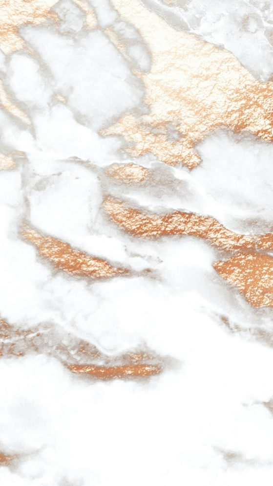 White and rose gold marble wallpaper