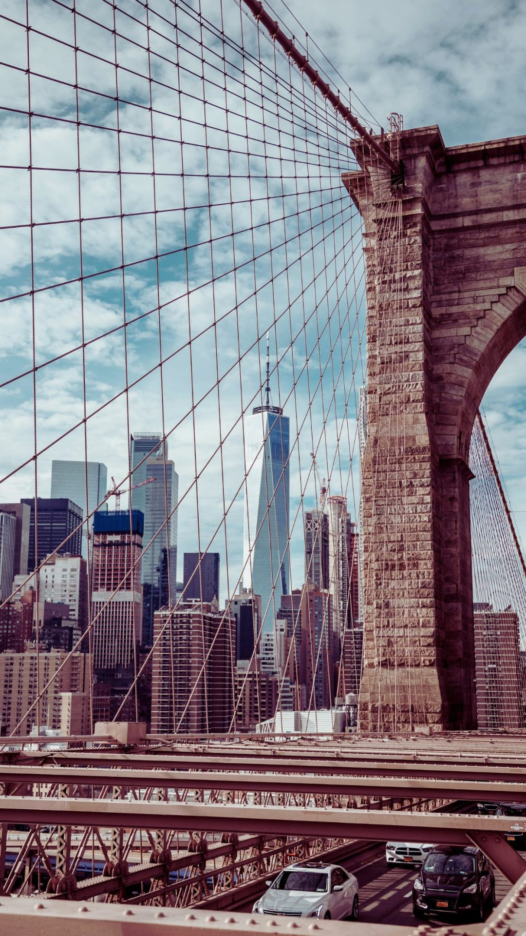 Beautiful Brooklyn bridge photography