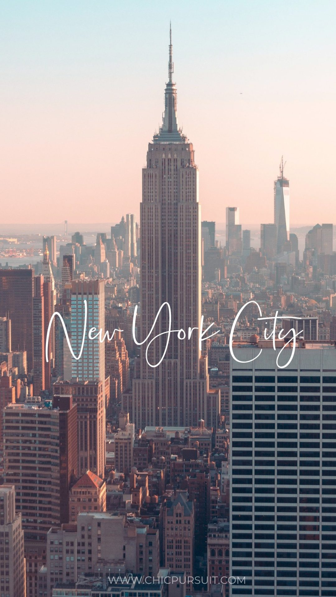 Pretty New York City wallpapers for iPhone with empire state building