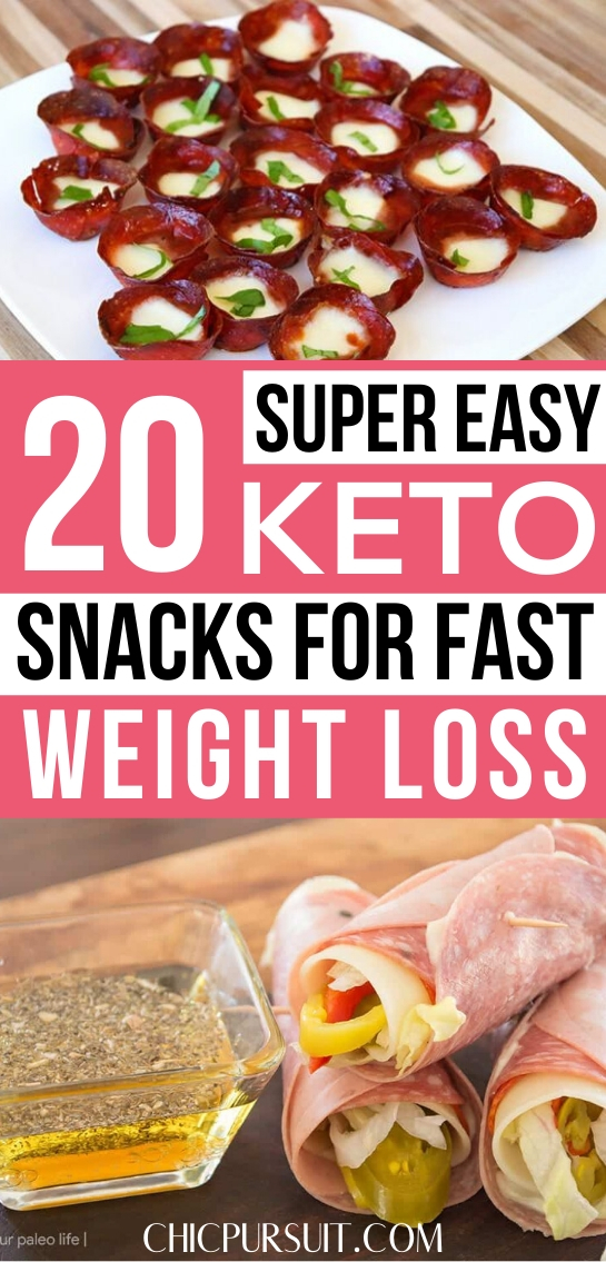 Best easy keto snacks for weight loss and other quick keto snacks