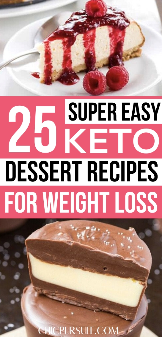 25 Quick & Easy Keto Dessert Recipes Perfect For Beginners