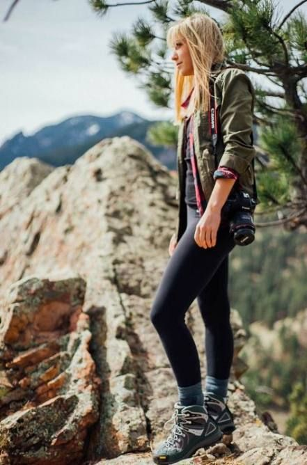Cute hiking outfits and summer hiking outfits