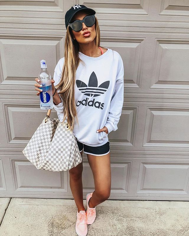 Cute Adidas outfits and casual summer outfits