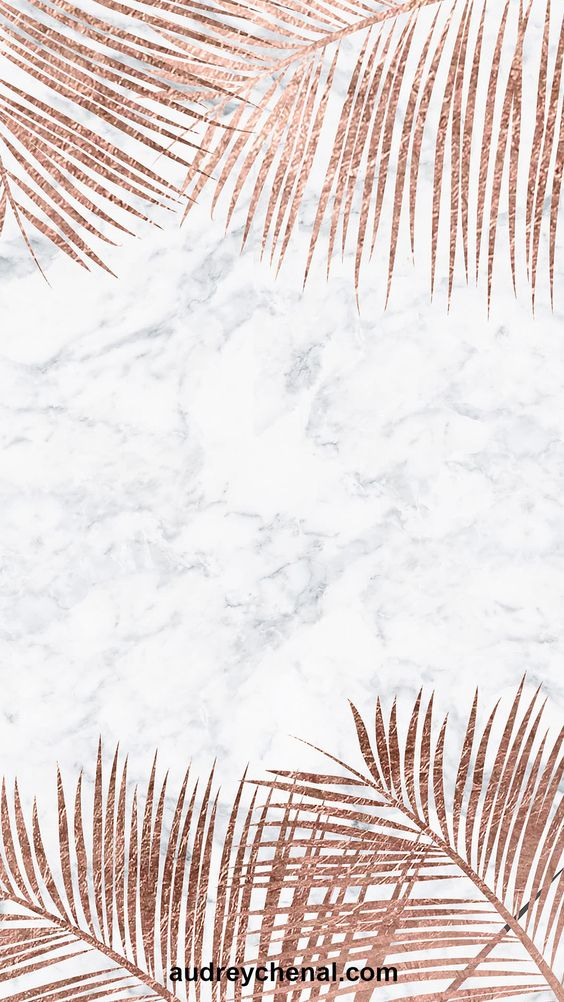 White marble wallpaper, rose gold wallpapers iPhone