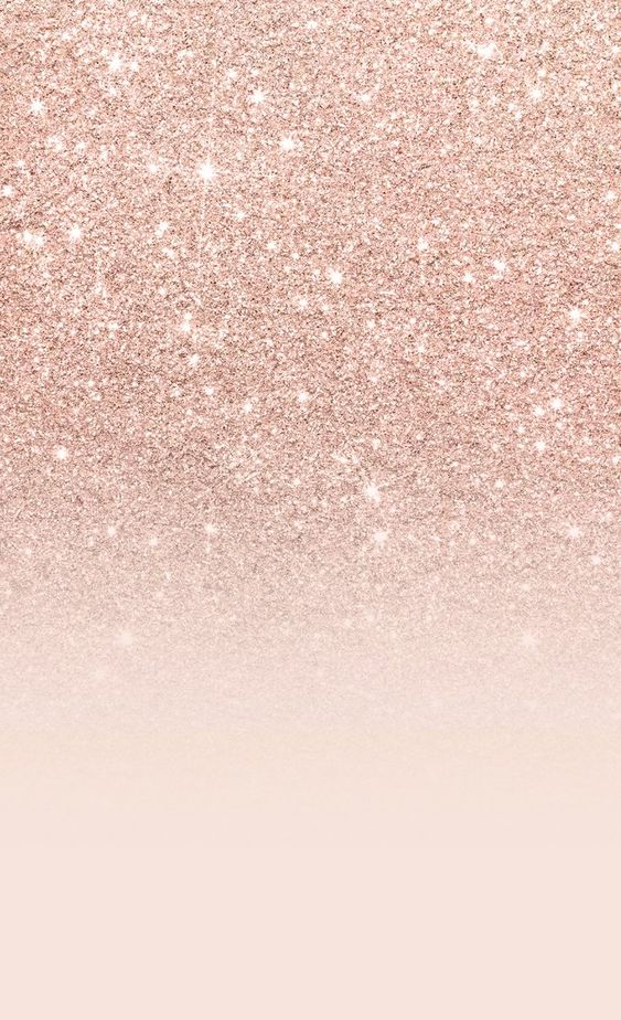 Cute rose gold wallpaper iPhone with glitter