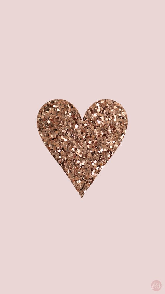 Rose gold wallpapers iPhone with glitter