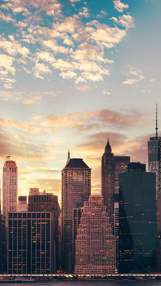 Pink New York City aesthetic wallpapers