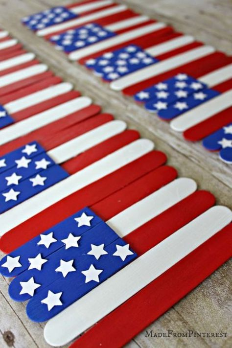 Patriotic Flag Craft For 4th July