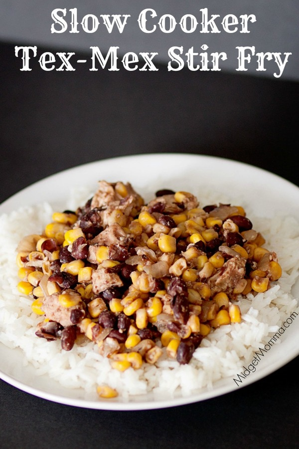 Slow Cooker Mexican Stir Fry