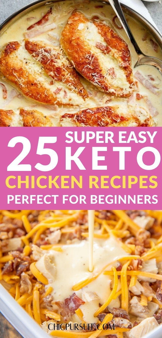 25 Easy Keto Chicken Recipes Perfect For Beginners