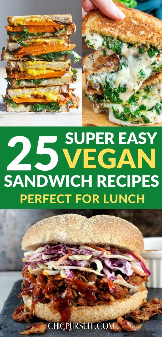 25 Easy Vegan Sandwich Recipes That Are Perfect For Lunch