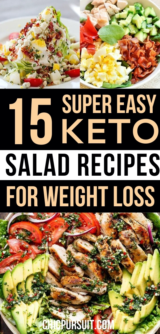 Best keto salad recipes for weight loss