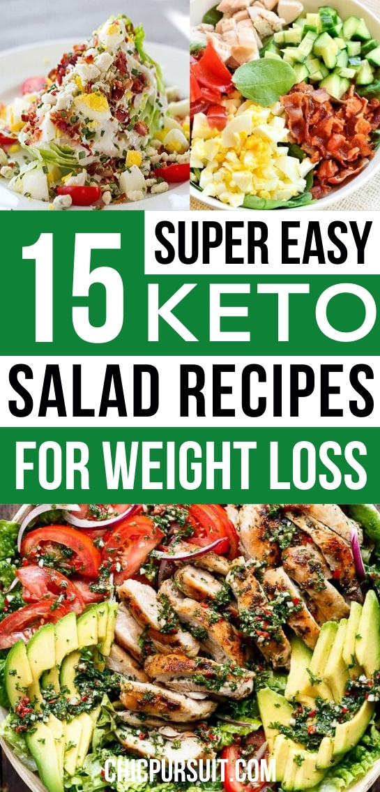 15 Best Keto Salad Recipes That Will Help You Lose Weight