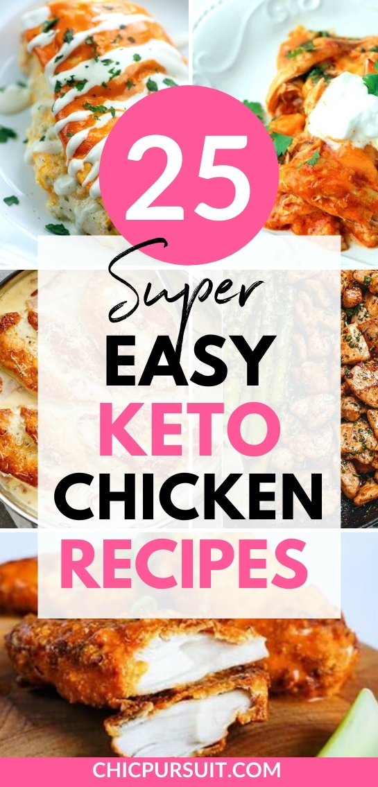The best easy keto chicken recipes for weight loss