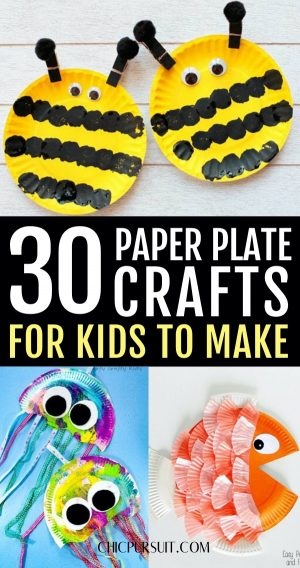 30 Easy Paper Plate Crafts For Kids To Make At Home