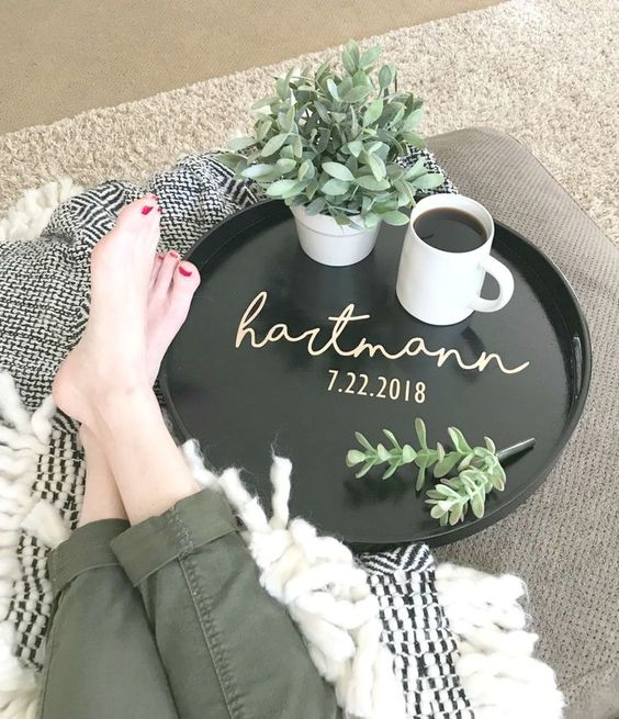 Personalized Tray Craft